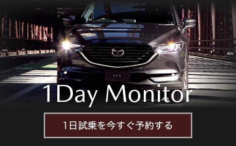 1Day Monitor 1日試乗を今すぐ予約する